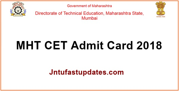 MBA CET Hall Ticket 2018 Download MAH CET Hall Ticket Exam Dates