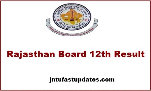 Rajasthan-board-12th-Result-2018