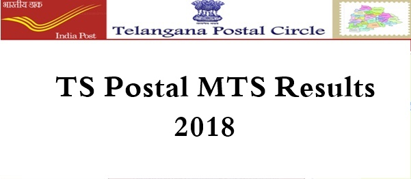 TS Postal MTS Results 2018