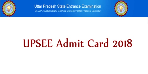 UPSEE Admit Card 2018 Download