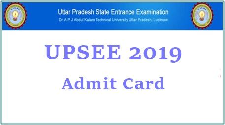 UPSEE Admit Card 2019