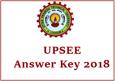 UPSEE Answer Key 2018