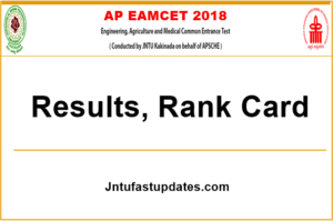 AP EAMCET Rank Card 2018 Download – Check EAMCET Results @ sche.ap.gov.in, Manabadi