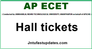ap ecet 2020 hall tickets