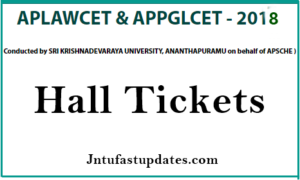 AP LAWCET 2018 Hall Tickets Download @ sche.ap.gov.in