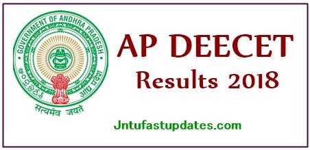 AP DEECET Results 2018