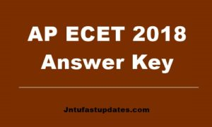 AP ECET Answer key 2018 Download with Q.P Branch Wise PDF @ sche.ap.gov.in