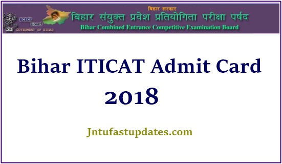 ITICAT Admit Card 2018 Download