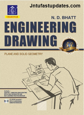 Engineering Drawing Textbook By ND Bhatt