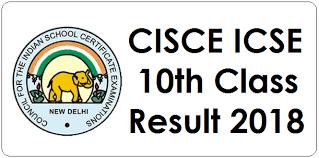 ICSE 10th Result 2018