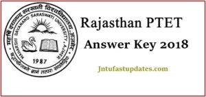 Rajasthan PTET Answer Key 2018 Available – Download B.A B.Ed B.Sc Key Solutions, Cutoff Marks ptetmdsu2018.com