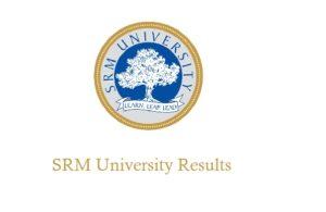 SRMJEEE Results 2018