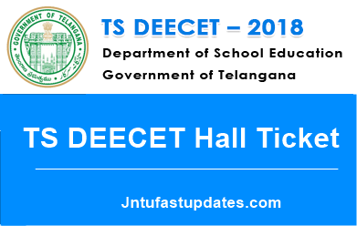 TS DEECET Hall Ticket 2018