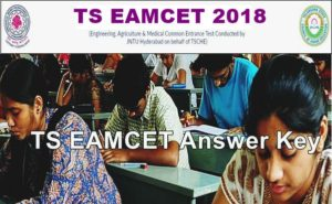 TS EAMCET Answer Key 2018 Download (Available) For Engineering, Medical & Qualifying Marks @ Eamcet.tsche.ac.in