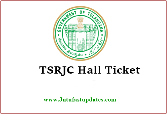 TSRJC Hall Tickets 2019