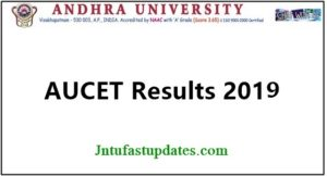 AUCET Results 2019