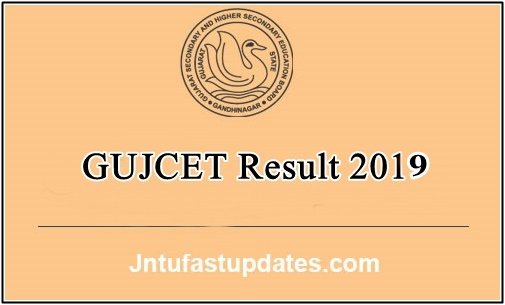 GUJCET Results 2019