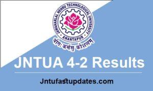 jntua 4-2 results 2018