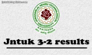 JNTUK B.Tech 3-2 Sem (R13, R10) Regular/Supply Exam Results April 2018 – Info