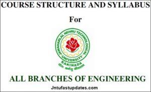 JNTUK B.Tech 2-1 Sem (R16) Syllabus Books Download – All Branches