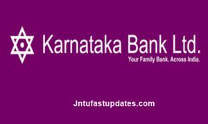 Karnataka Bank PO Admit Card 2018 Download @ karnatakabank.com