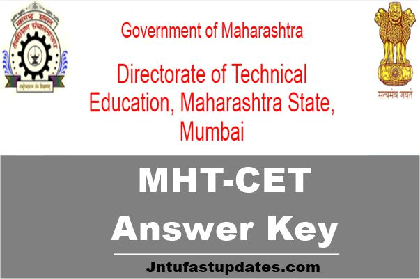 mht cet answer key 2018