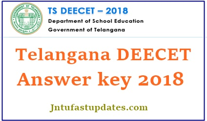TS DEECET Answer Key 2018 Download