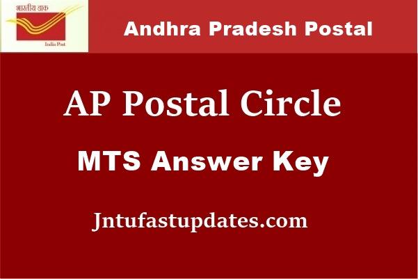 AP-Postal-Circle-MTS-answer key-2018