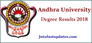 AU Degree 2nd, 4th, 6th Sem Results 2018 – Andhra University UG BA B.Com BSC Results @ aucoe.info