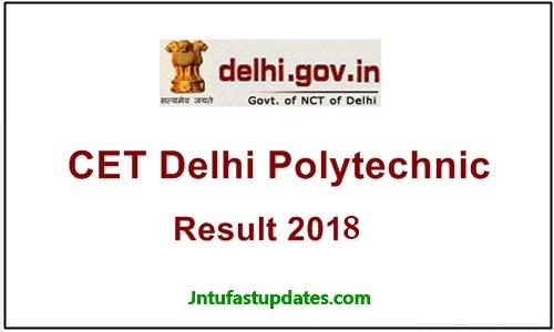 Delhi Polytechnic results 2018