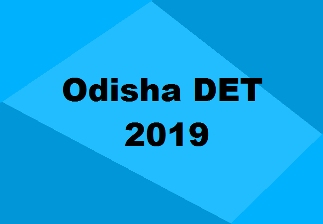 DET Odisha Polytechnic Merit List 2019