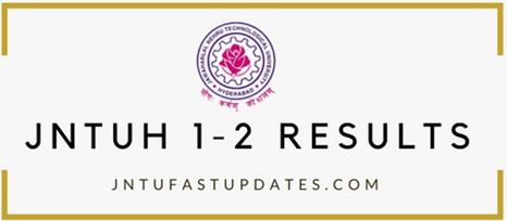 JNTUH 1-2 Results 2018
