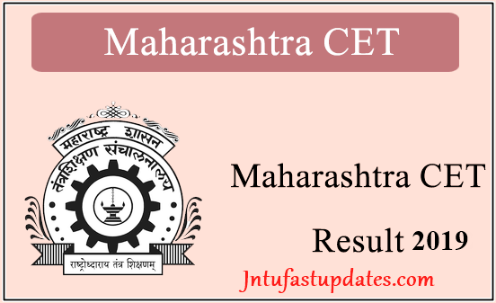 MHT CET Results 2019