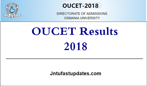 OUCET Results 2018