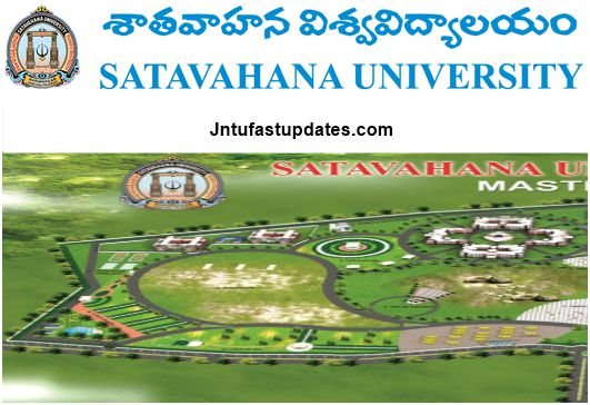 Satavahana University Results 2018