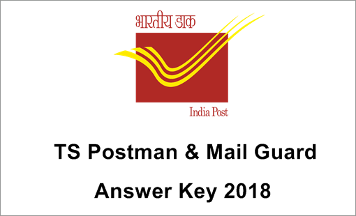 TS Postal Circle Pm and Mg Answer Key 2018
