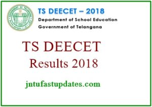 TS DEECET Results 2018 Released – Telangana DIETCET Rank Card, Counselling Dates