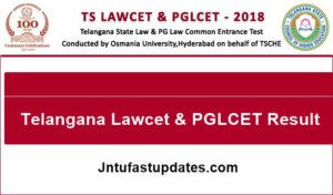 TS LAWCET & PGLCET Results 2018 Released – Download Lawcet Rank Card @ Manabadi