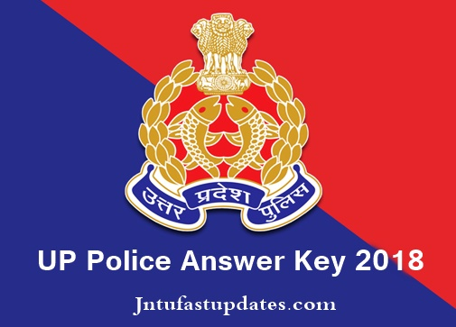 UP Police Constable Answer Key 2018