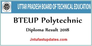BTEUP Results 2018 – UP Polytechnic Diploma 2nd 4th 6th Semester Result @ bteupexam.in