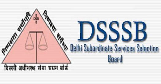 DSSSB PGT Result 2018