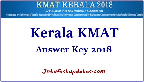 Kerala KMAT Answer Key 2018 Download