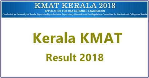 Kerala KMAT Result 2018