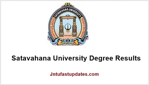 Satavahana University Degree results 2018