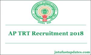 AP TRT Recruitment 2018 – Apply Online For 211 S.G.T. Urdu Posts @ aptrt.apcfss.in