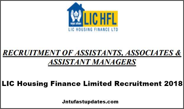 LIC HFL Recruitment 2018