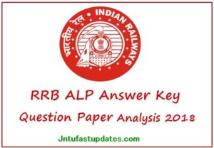 RRB ALP Answer Key 2018 (Released) – Download Link of RRB Assistant Loco Pilot Answer Sheet & Objections