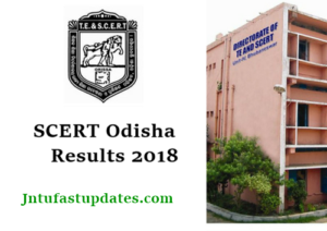 SCERT Odisha Result 2018