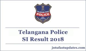 TS Police SI Results 2018 Released – Telangana Sub Inspector Result, Cutoff Marks & Merit List @ Tslprb.in