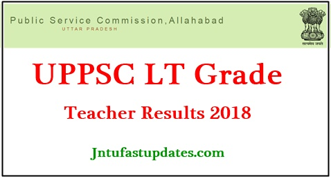 UPPSC LT Grade Teacher Results 2018